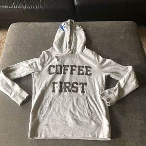 """Express """"Coffee First"""" hoodie - S"""